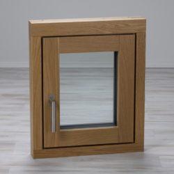 Holz-Alu-Fenster Eiche innen
