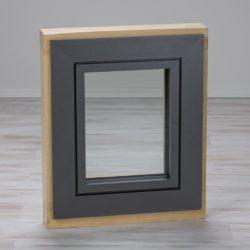 Holz-Alu-Fenster Fichte aussen
