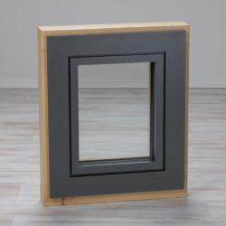 Holz-Alu-Fenster Tanne aussen