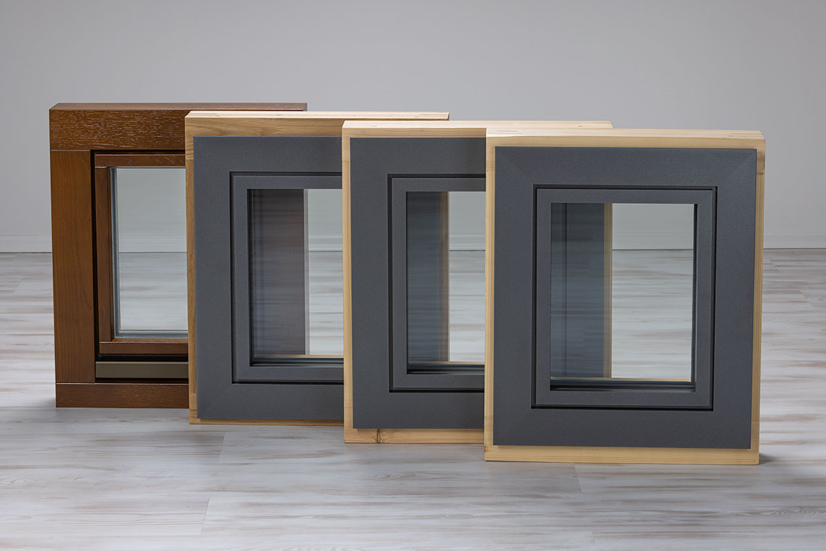 Übersicht Holz-, Holz-Aluminium Fenster aussen